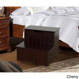 K&b 33ch Wood Storage Step Banco