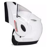 d8948f0b8b2ed Capacete Taurus Bullitz Zarref Classic Robocop Preto Branco