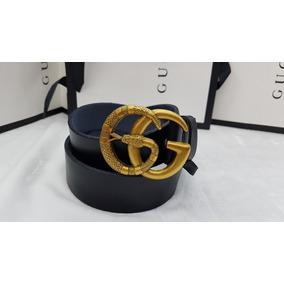 057a14605 Cinturon Gucci Con Hebilla G Cinturones - Accesorios de Moda de ...