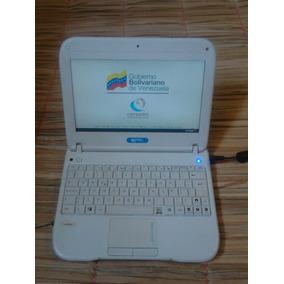 Laptop Canaima Letras Azules