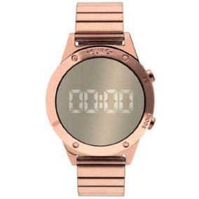 Relógio Euro Fit Feminino Digital Rose Gold Eujhs31bac/4d