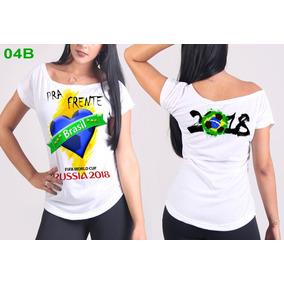 3d99d8a570354 Camiseta Copa Mundo 2018 Russia - Camisetas Manga Curta no Mercado ...