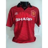 95 Camisa Manchester United 94 - Esportes e Fitness no Mercado Livre ... 8f8e4766b7a0e