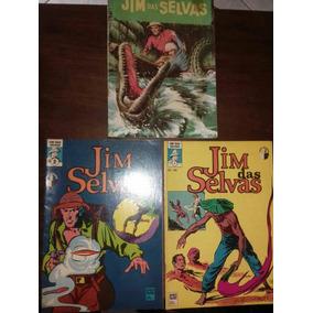 03 Gibis Jim Da Selva..impecáveis. .