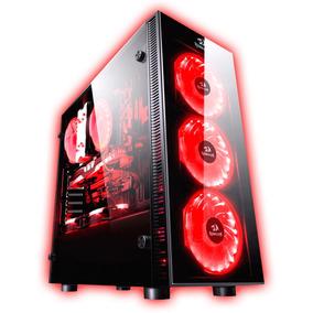 Gabinete Pc Gamer Redragon Sideswipe Fan Rgb Remoto