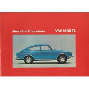 Manual De Instruções - Tl1600 1973- Loja Oficial Volkswagen