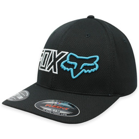 Gorra Fox Outline Flexfit ! Negro