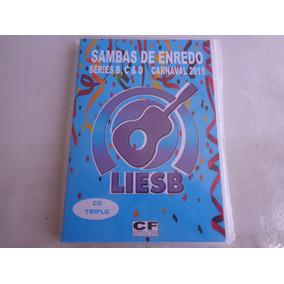 Box 3 Cds Sambas De Enredo Séries B, C & D Rj 2018 Liesb