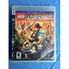 Lego Indiana Jones 2 The Adventure Continues Ps3 Frete R$10