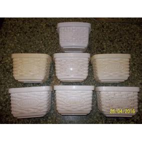 Kit 7 Pote Porta Margarina Sadia Qualy 500 Gramas S/ Tampa