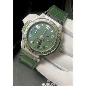 Hublot Big Bang 41mm Tutti Frutti Dark Green Com Safira !