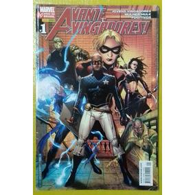 Avante Vingadores - Nº 1 (2007) - Ed. Panini / Gibi Quadr