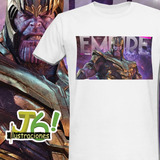 Camiseta End Game ¿team Thanos O Team Avengers?