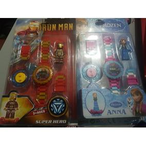 Relojes Frozen Vs Iron Man Varios Modelos