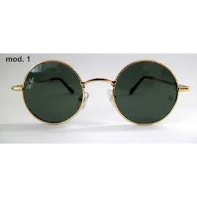 Óculos Escuro Redondo Masculino - Óculos De Sol no Mercado Livre Brasil b420afdd90