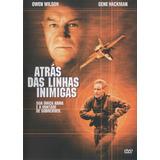 Atrás Das Linhas Inimigas - Dvd - Gene Hackman - Owen Wilson