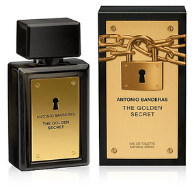 Perfume Antonio Banderas The Secret Golden - 100ml