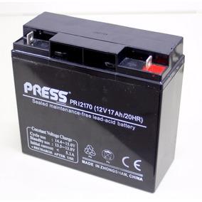 Bateria De Gel Recargable 12v 17ah Ups Alarmas Generador