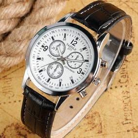 dcd52e82df8 Relógio Luxo Masculino Geneva Pulso Social Pulseira Marron