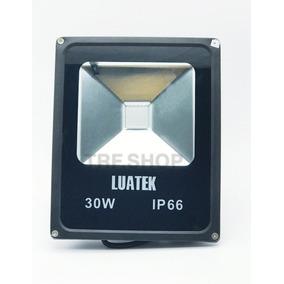Refletor Led 30w Holofote Ip 66 Bivol Luatek Lk-ww-30w