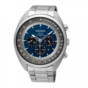 Incrível Relógio Seiko Ssc619p1 Chronograph Solar Show Top
