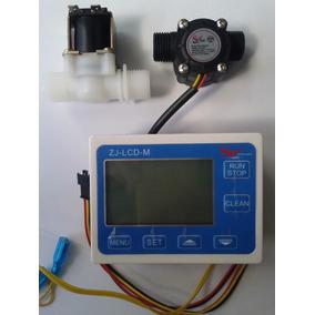 Medidor De Fluxo Dosador Água+display+sensor Fluxo+válvula