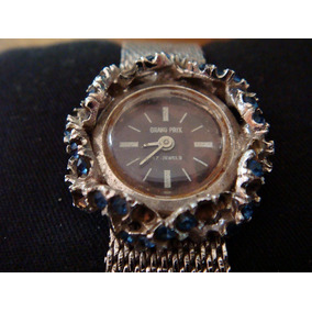 Antiguo Reloj Grand Prix Para Dama. Colección 70´s.