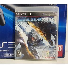 Jogo Metal Gear Rising Playstation 3 Midia Fisica Ps3