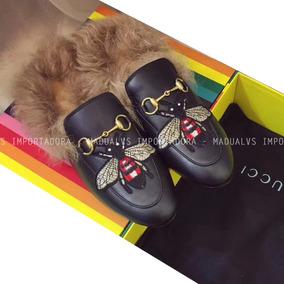 29ab2465f Gucci Mule Pelo - Sapatos no Mercado Livre Brasil
