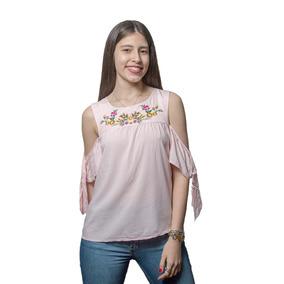 Blusa Dama Musculosa Rosa Con Detalles Wanna slowly Bws-45 3d565a32c19
