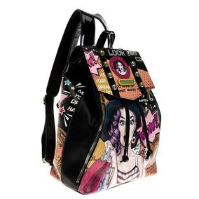 Nicole Lee Mochila Wow It`s Lucy Pop Art Backpack Luc12971
