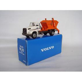 Miniatura Caminhão Volvo Nl10 Power Caçamba Entulho = Arpra.