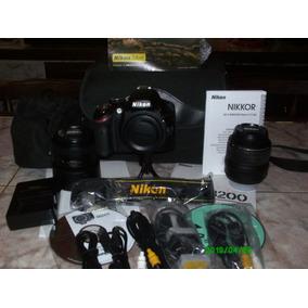 Cámara Digital Profesional Nikon D3200
