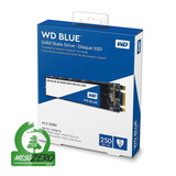 Disco Sólido Ssd M.2 22x80mm Wd Blue 3d Nand 250gb Sata 3.0