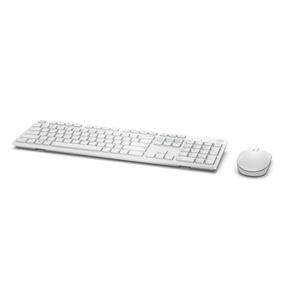 Kit Teclado E Mouse Wireless Dell Km636 Branco