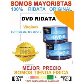 Dvd Virgen Ridata Valor Original Dvd-r 16x 120min 4.7gb