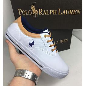 942675cf4633f Sapatênis Ralph Lauren para Masculino Azul no Mercado Livre Brasil