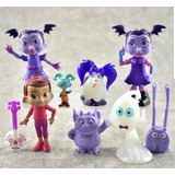 Play Set Vampirina X 9 Pvc Unicos ! Ideal Tortas !