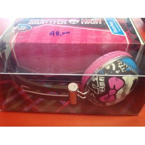 Fone De Ouvido Multilaser Monster High Rosa Sem Microfone