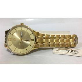 98e44925d4f Relogio Vip Dourado - Relógios De Pulso no Mercado Livre Brasil