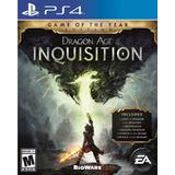 Dragon Age Inquisition - Edición Juego Del Año ~ Ps4 Digital
