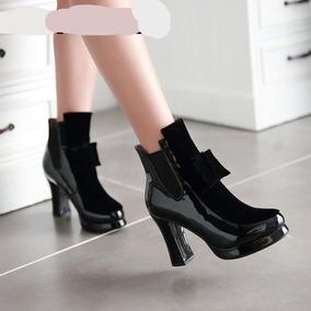 Zapatos De Tacon Plataforma Cali - Botines para Mujer en Mercado ... 28155ecb7b9a