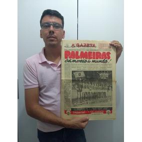 Jornal 1951, Palmeiras Campeão Mundial