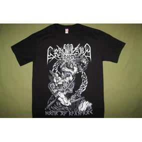 Gusanobass Playera Rock Metal Graveyard Black Death M Y L