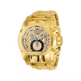 Relógio Invicta Zeus Magnum Dourado 25210 Top Top