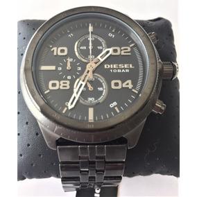 Relógio Masculino Diesel Advanced Dz4442 Aço Grafite / Azul