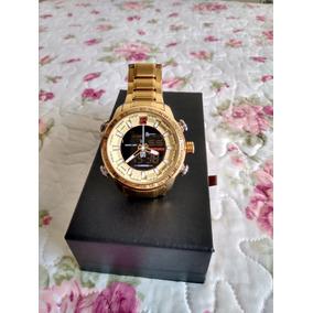 Relógio Naviforce Original - Dourado - Original