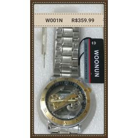 51b9e1d624b Relogio Woonun - Relógios no Mercado Livre Brasil