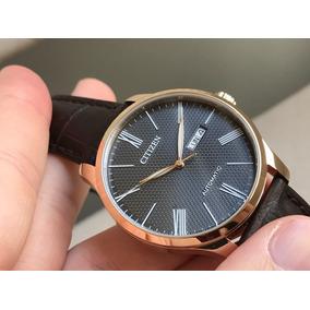 Relógio Citizen Dress Gold Automatic Nh8353-00h