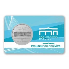 Medalha 200 Anos Do Museu Nacional - Frete Grátis